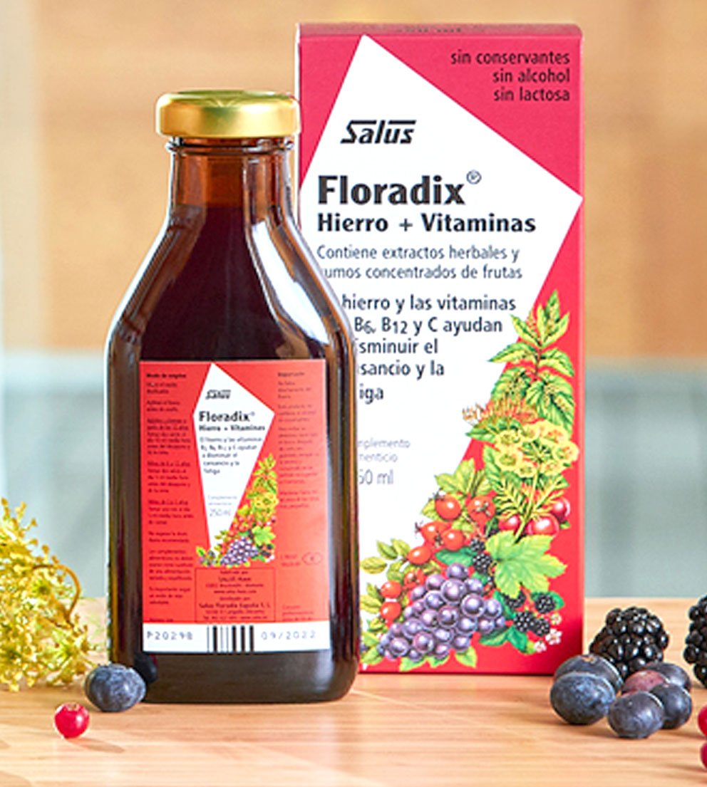 Floradix Hierro VITAMINAS