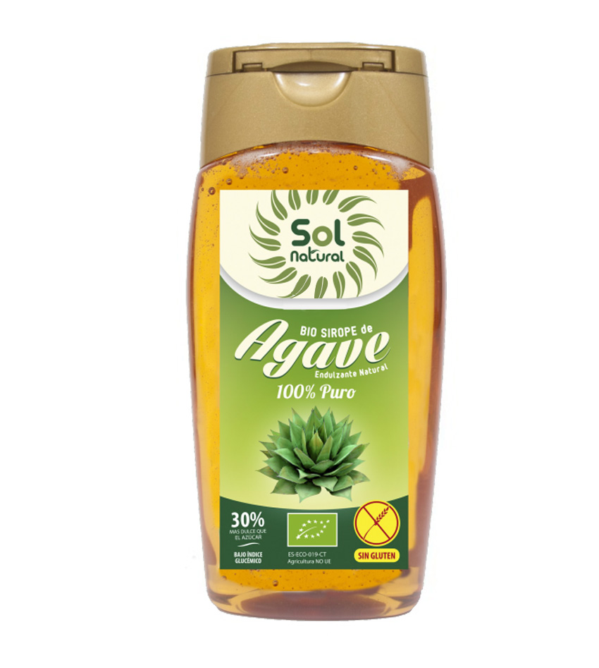 Bio Sirope de Agave edulcorante Sol Natural