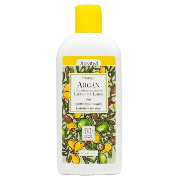 Champú de Argán con lavandín y limón