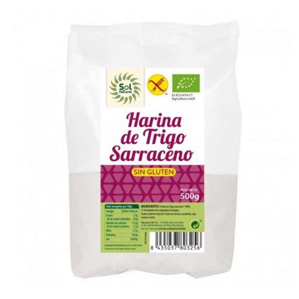 Harina de trigo saraceno