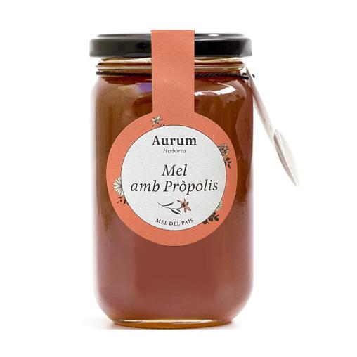 Miel con própolis Aurum Herborea