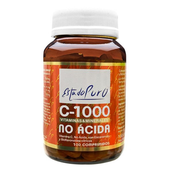 Vitamina C-1000 no ácida