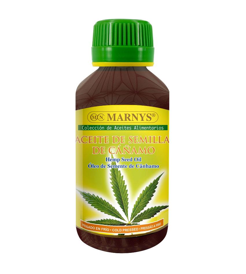 Aceite alimentario de semillas de cáñamo Marnys