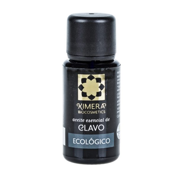 Aceite esencial de clavo Ecológico 15ml Biocosmetics Eugenol