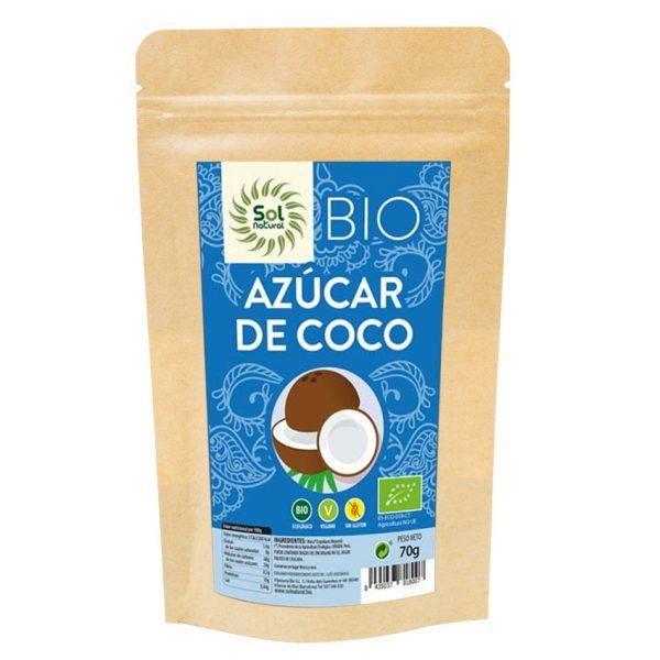 Azúcar de coco Bio Vegano 70g Sol Natural
