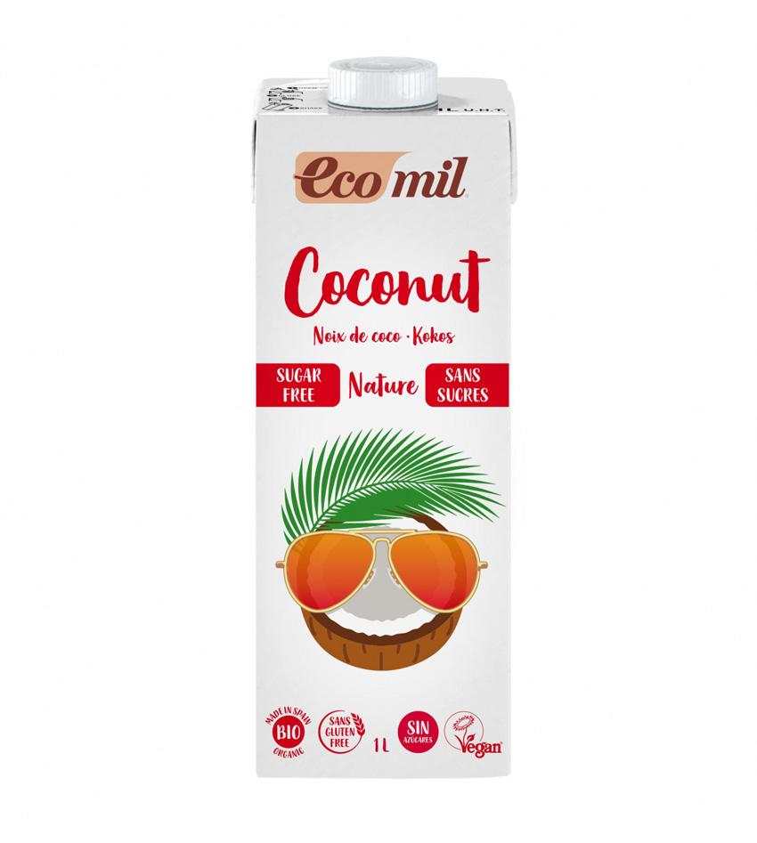 Bebida de coco vegetal eco mil Coconut