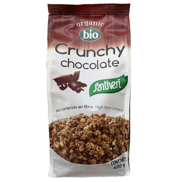 Crunchy chocolate Santiveri Bio Organic 400g Fibra Sant Boi