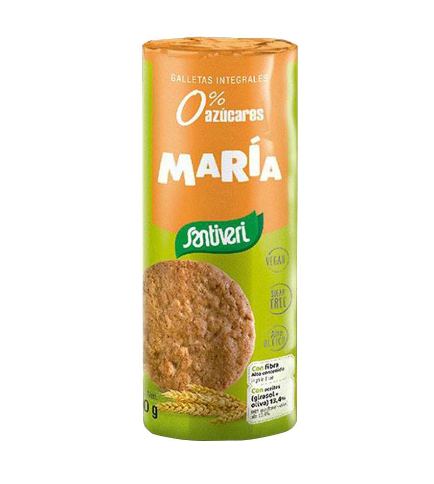 Galletas María integrales 190g Santiveri
