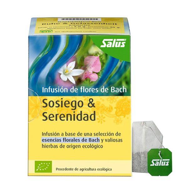 Infusión de flores de Bach Sosiego y Serenidad copia