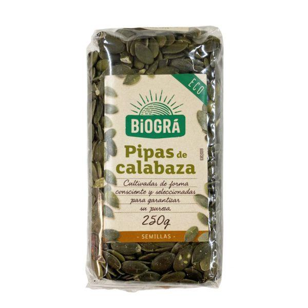 Pipas de calabaza 250g Biogra