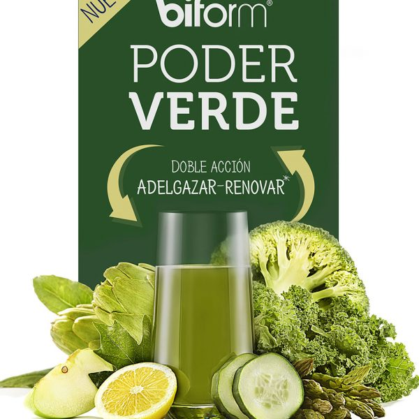 Poder verde 500 ml Biform