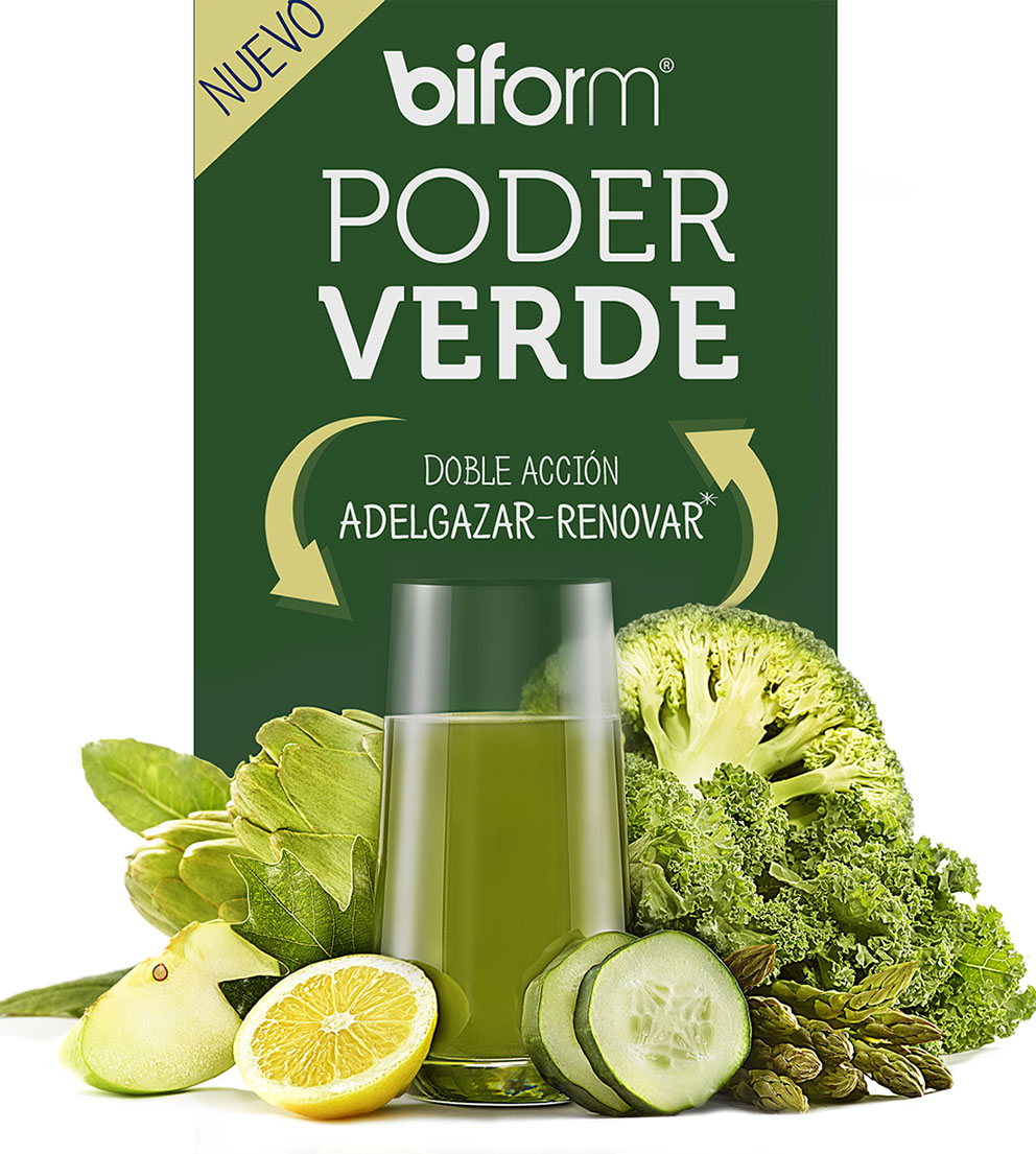 Poder verde 500 ml Biform