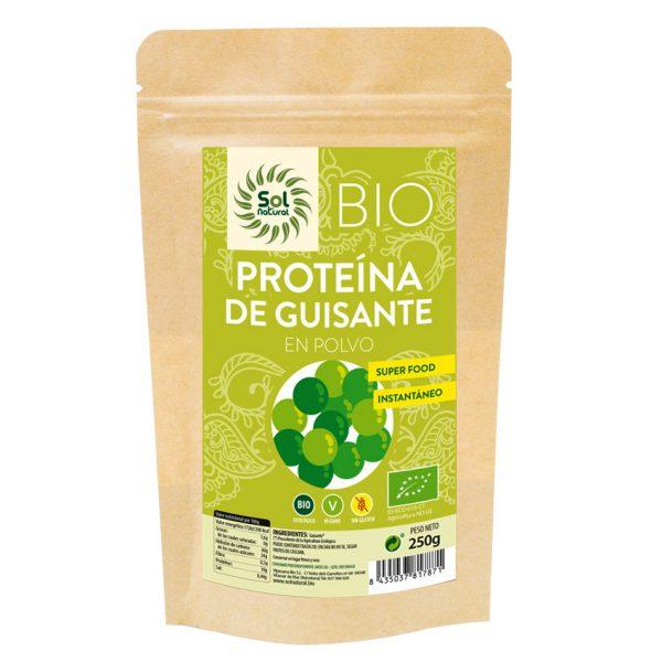 Proteina de guisante en polvo 250g Sol Natural