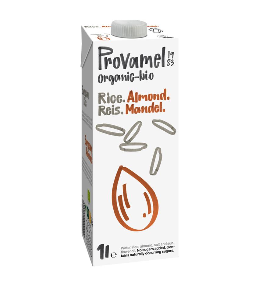 Provamel Organic bio bebida de arroz y almendras