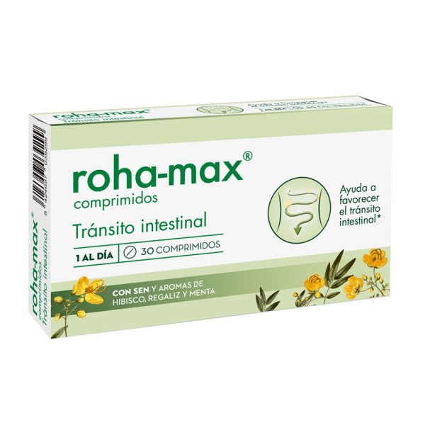 Roha-Max 30 comprimidos Tránsito intestinal