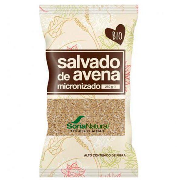 Salvado de avena microlizado 250g Soria Natural