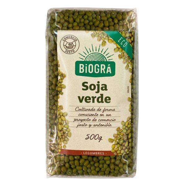 Soja Verde Comercio Justo 500g Biográ