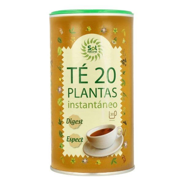 Té de 20 plantas instantáneo Sol Natural