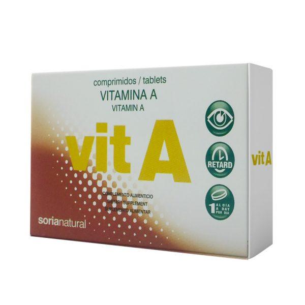 Vitamina A Retard 48 comprimidos de Soria Natural