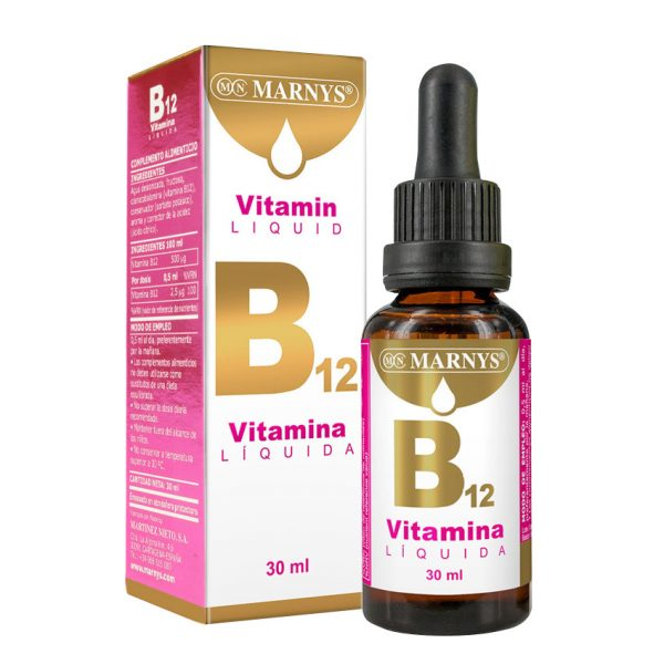 Vitamina B12 Líquida 30ml Marnys