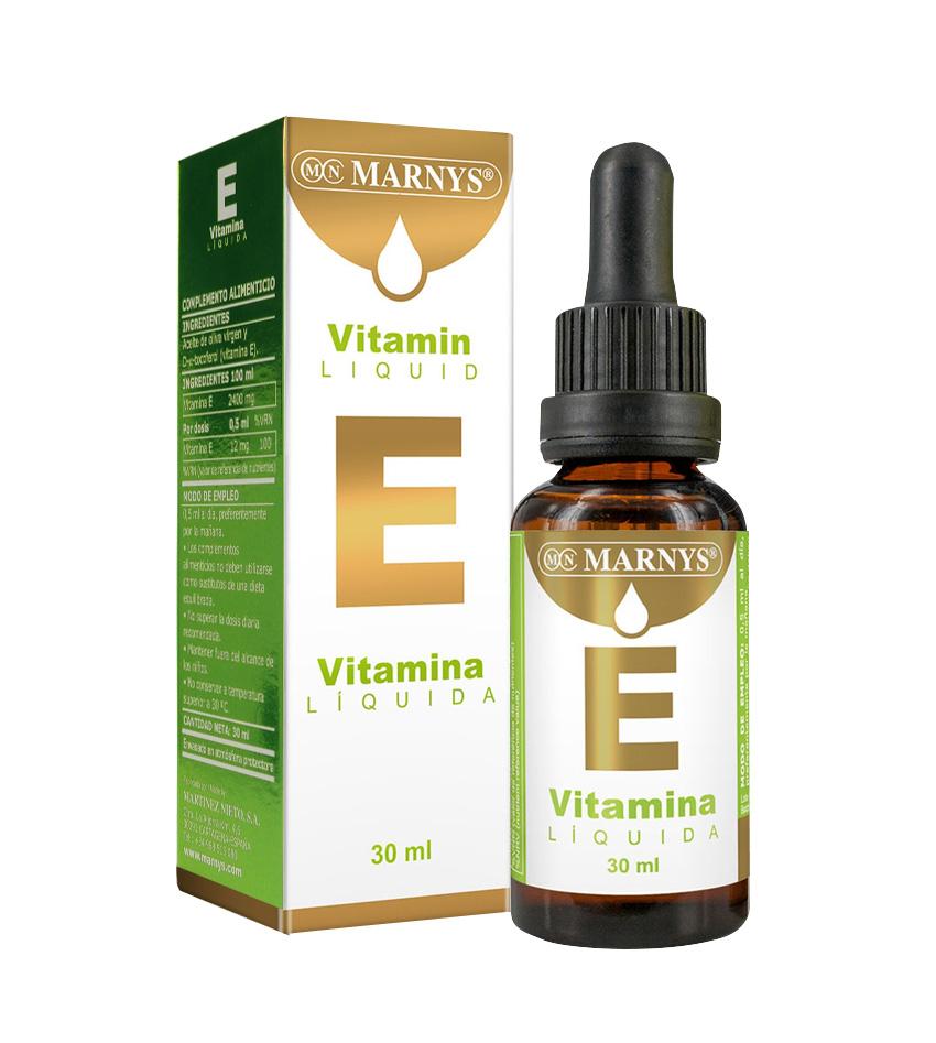 Vitamina E Líquida 30ml Marnys