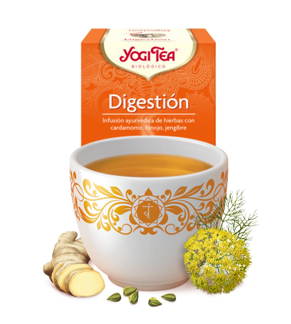 yogi tea Digestión