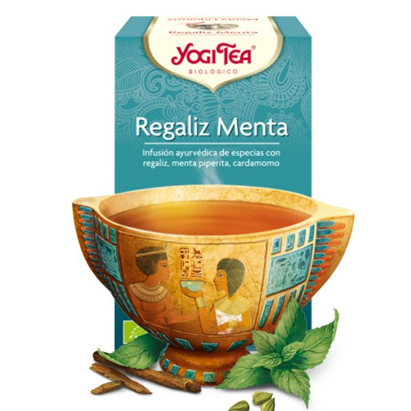 yogi tea Regaliz Menta