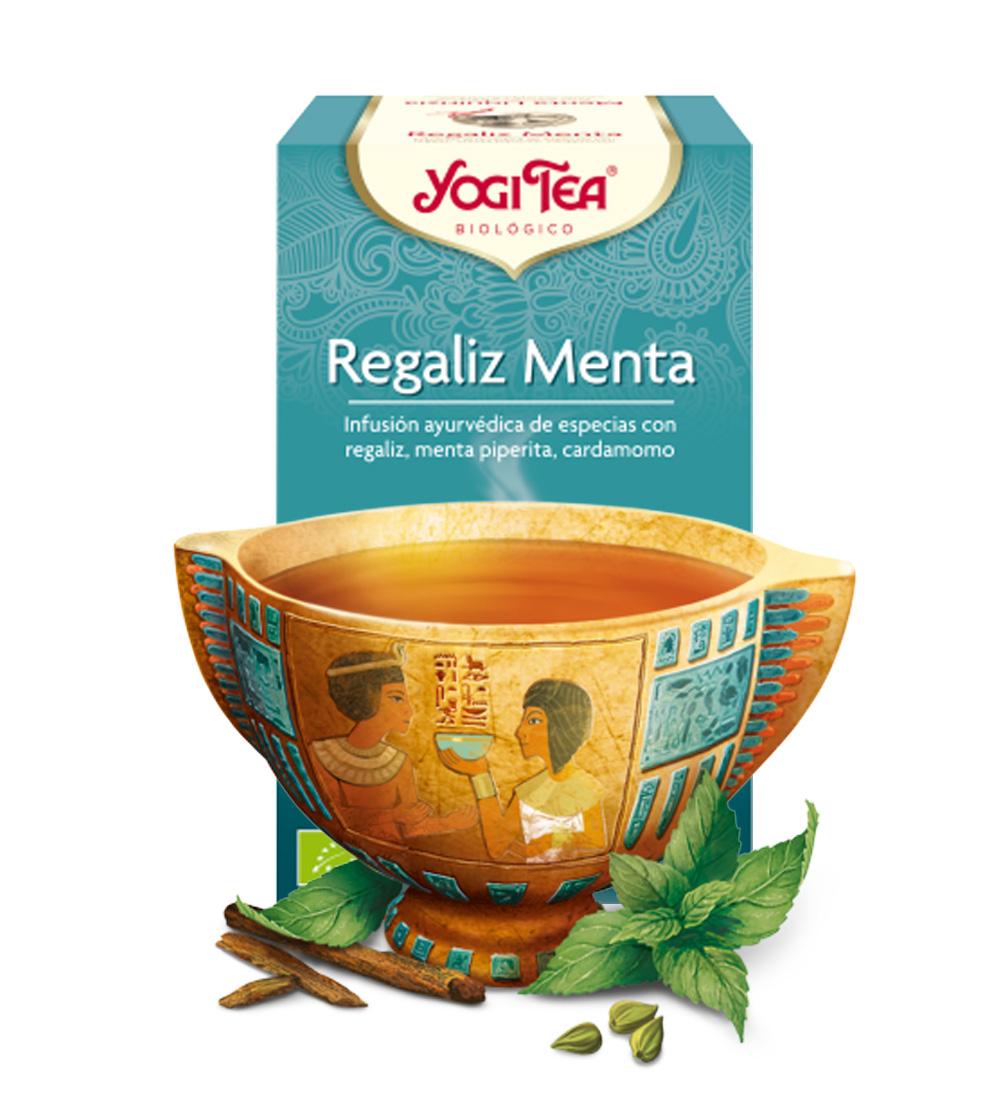 yogi tea Regaliz Menta
