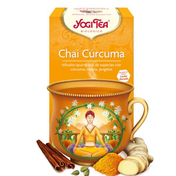 Yogi Tea Chai Cúrcuma