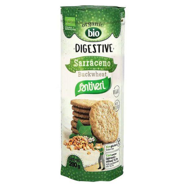 Galletas Digestive Saraceno Buckwheat Santiveri