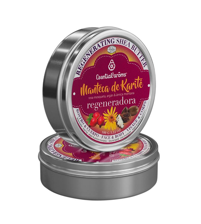 Manteca de Karité Regeneradora 100Gr. Esential Aroms Sant Boi