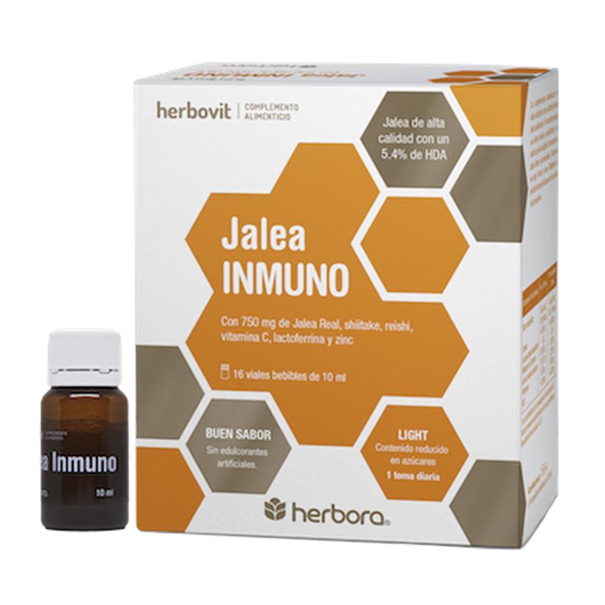 2x1 Jalea Inmuno 16+16 Ampollas Bebibles x 10 ml Herbora Herbovit