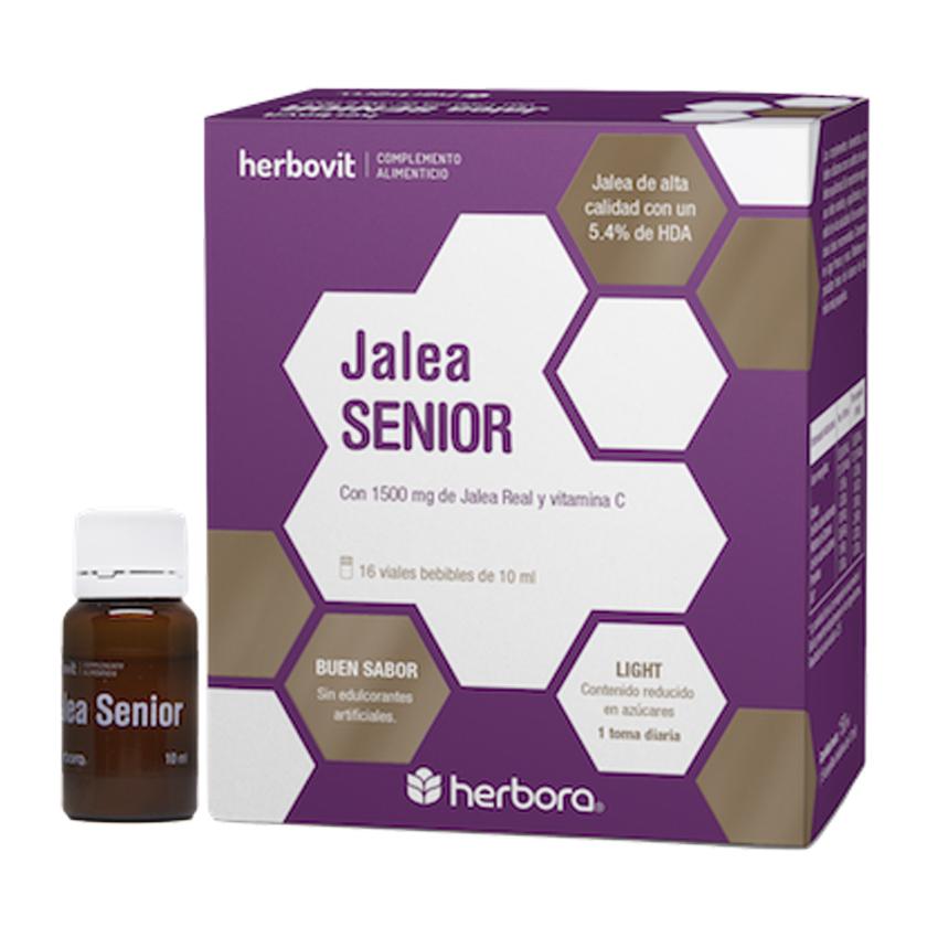 2x1 Jalea Senior 16+16 Ampollas Bebibles x 10 ml Herbora Herbovit