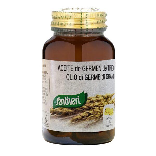 Aceite de Germen de Trigo 120 perlas Santiveri