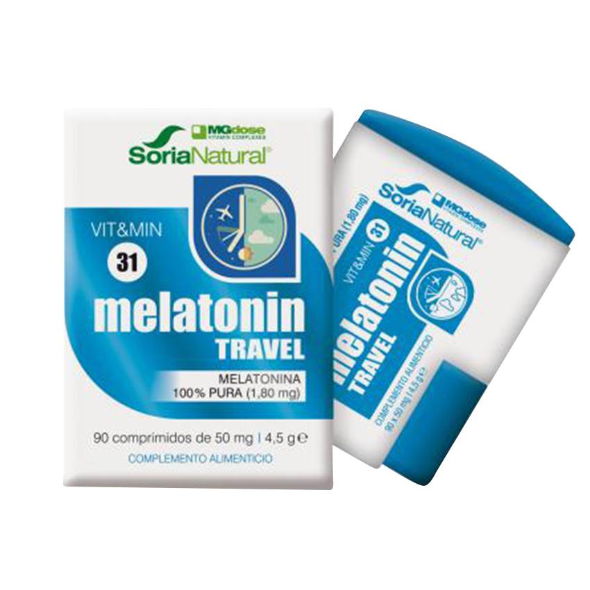 Melatonin Travel MG dose