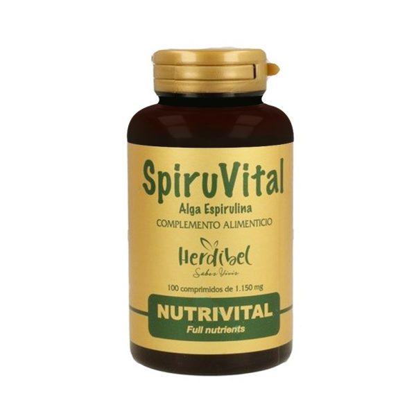 SpiruVital Alga Espirulina Herdibel Nutrivital