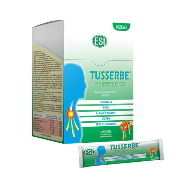 16 Sobres Tusserbe Pocket Drink ESI