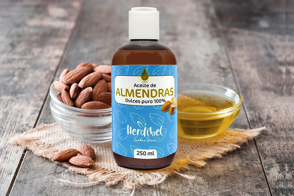 Aceite de Almendras dulces Puro 250ml Herdibel