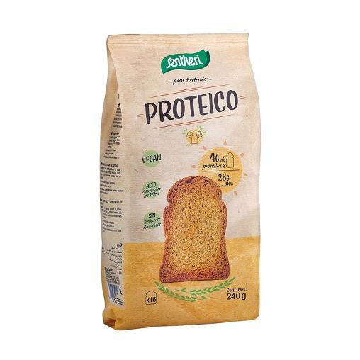 Pan Tostado Proteico 240 g Santiveri