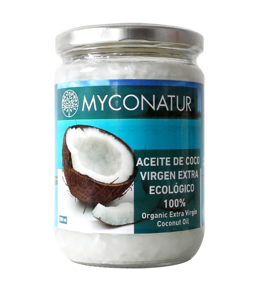 Aceite de coco Virgen Extra Ecológico Myconatur