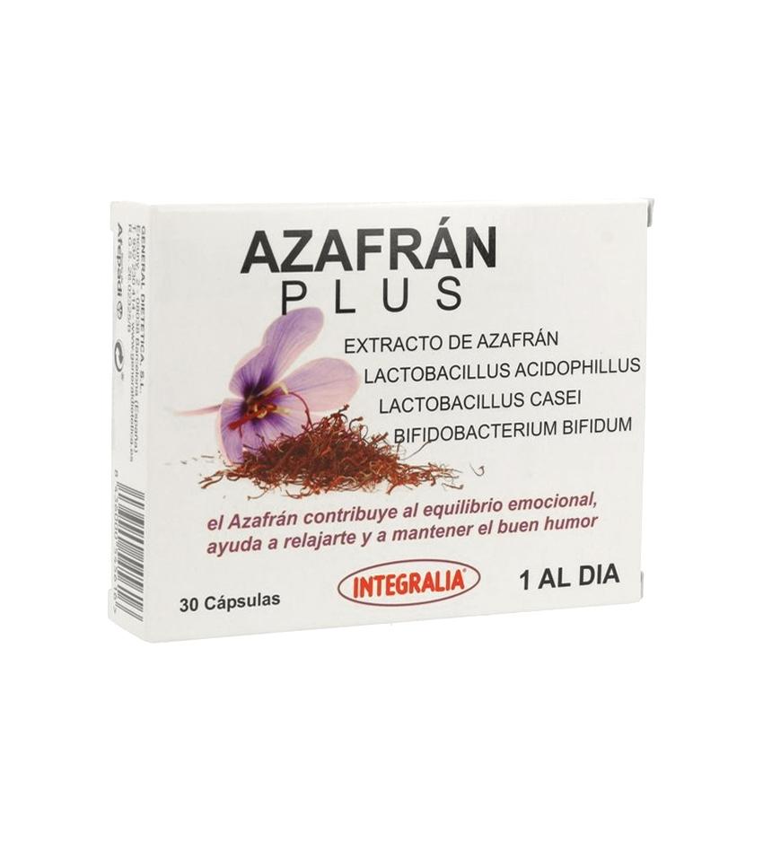 Azafran Plus Extracto Integralia