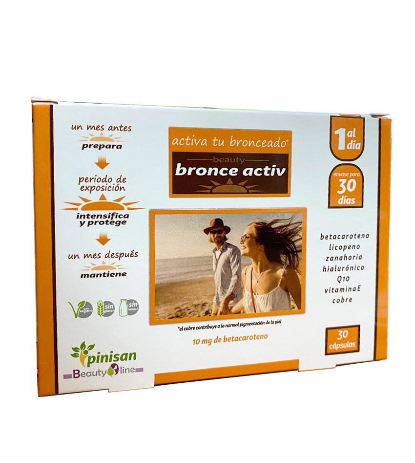 Bronce Activ Betacaroteno 10mg Beauty Line de Pinisan