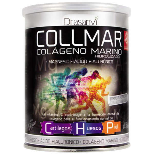 Colágeno hidrolizado con magnesio y ácido hialurónico