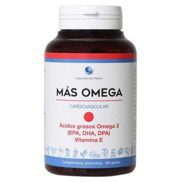 Más Omega 3 Punto Rojo 180 perlas Mahen