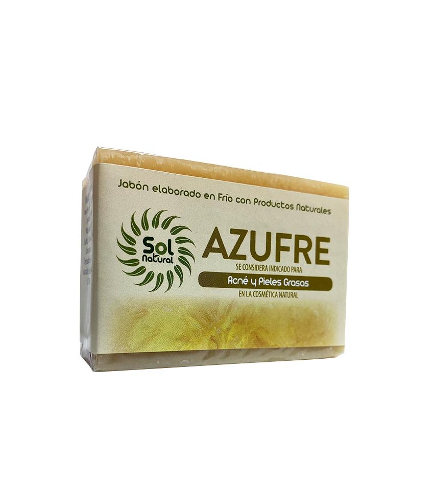 Jabon Natural De Azufre 100 Gr Sol Natural