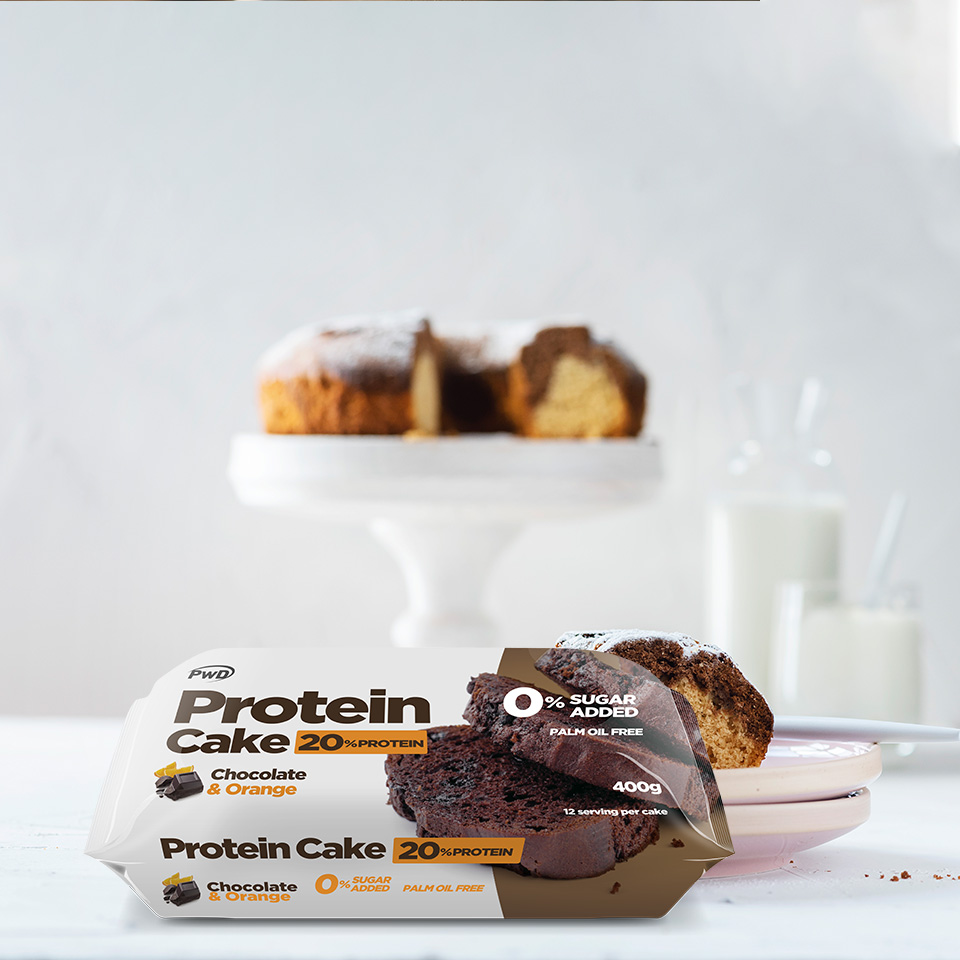 Protein Cake Chocolate Naranja 400g Pwd Nutrition